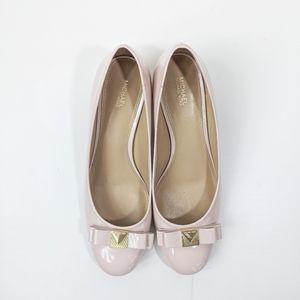 Michael Kors Caroline Mid Heel Pumps 10M Pink
